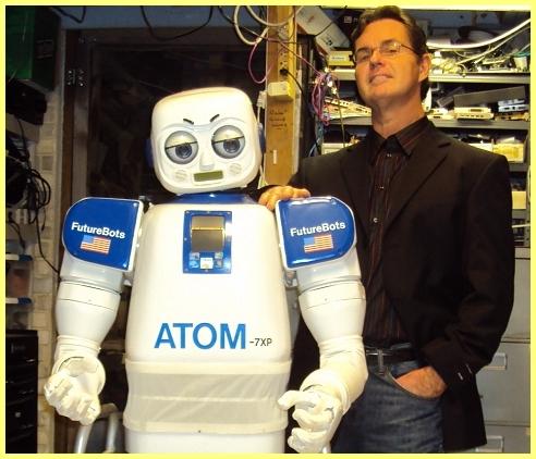 Dan Mathias Robotics Scientist Of The Atom Humanoid Series Of Robots