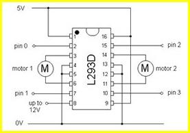 motor driver ic l293d pdf